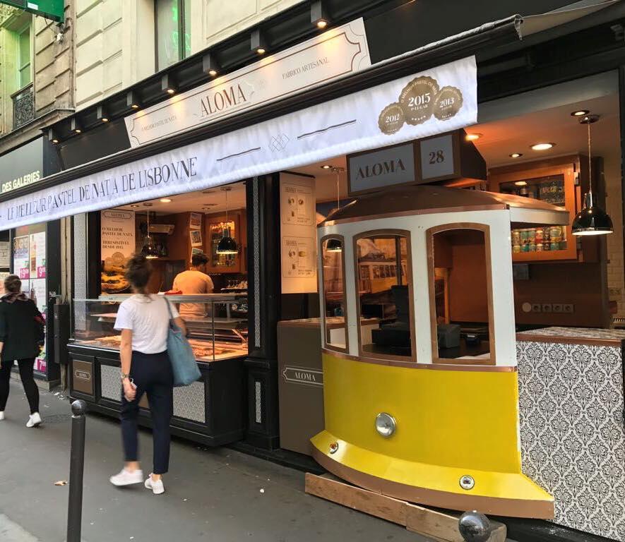 où manger à lisbonne  La Pastelaria Aloma