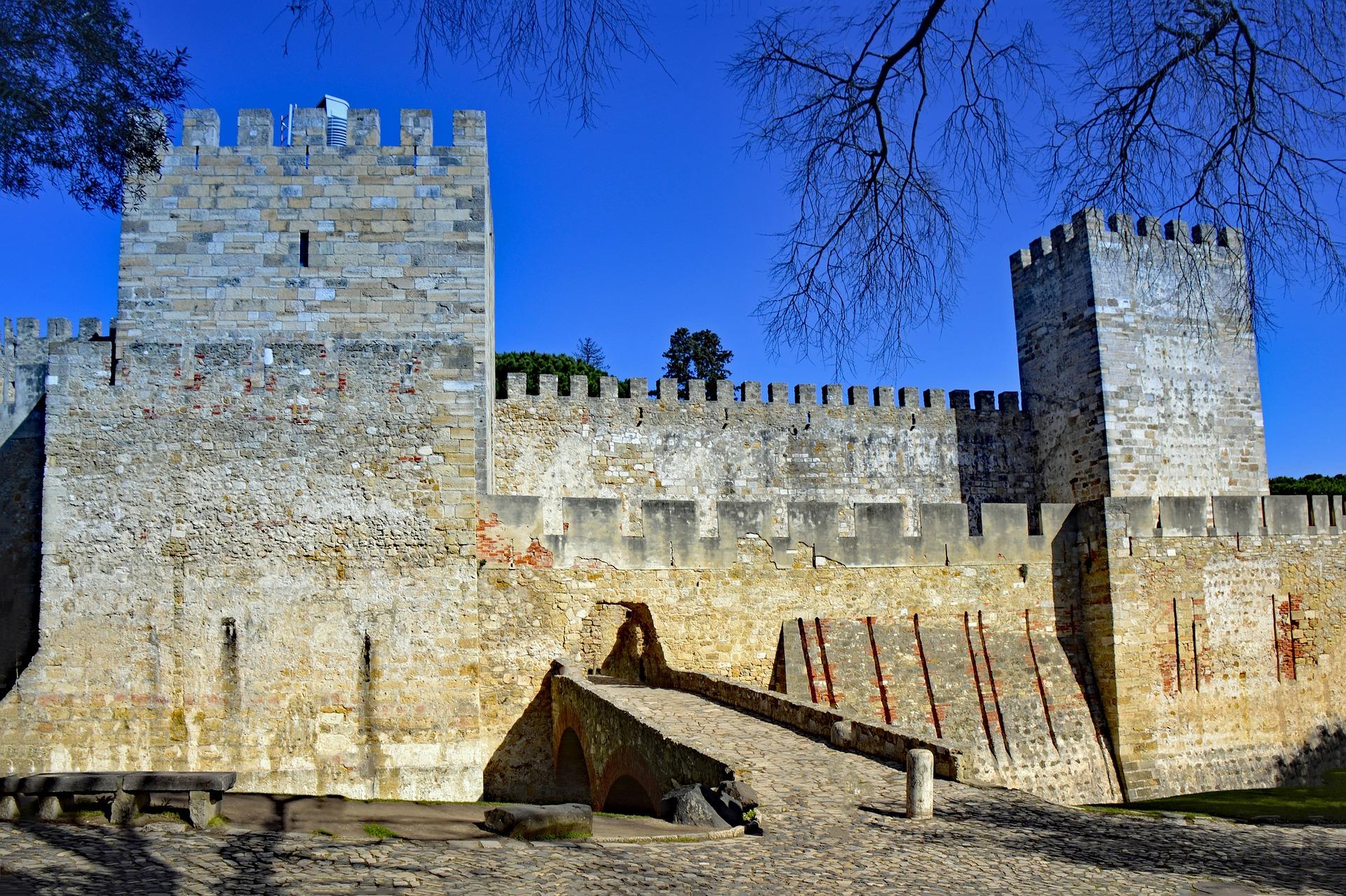 Château St Georges à Lisbonne