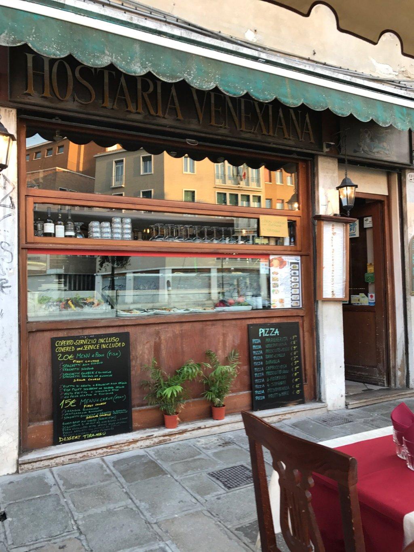 Restaurant Trattoria Hostaria Venexiann Venise