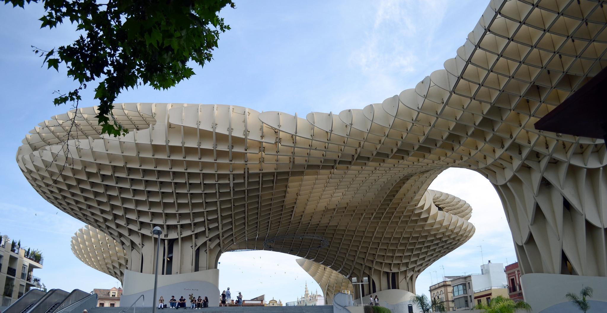 Metropol Parasol en Espagne