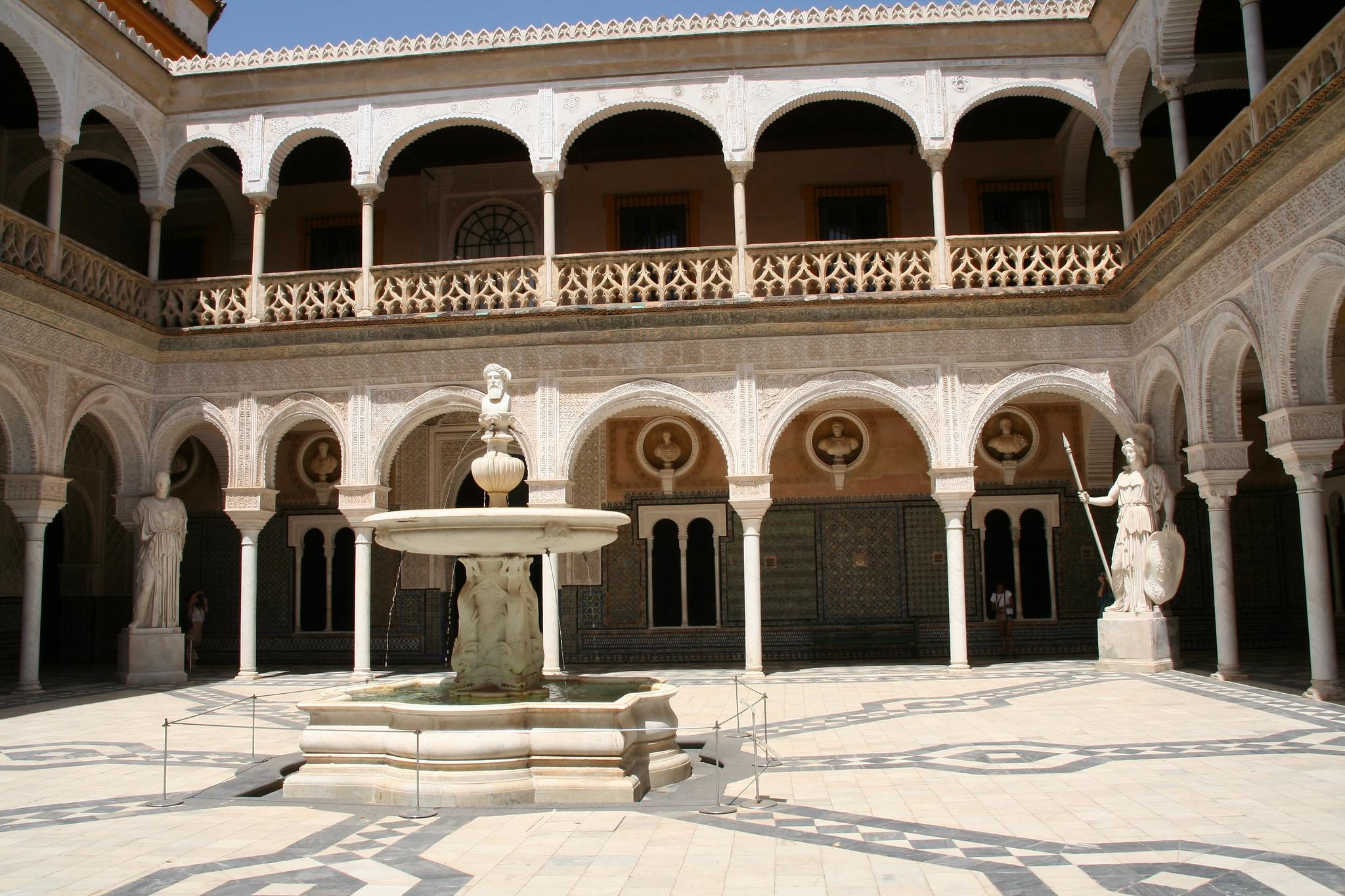 La casa de pilatos en Espagne