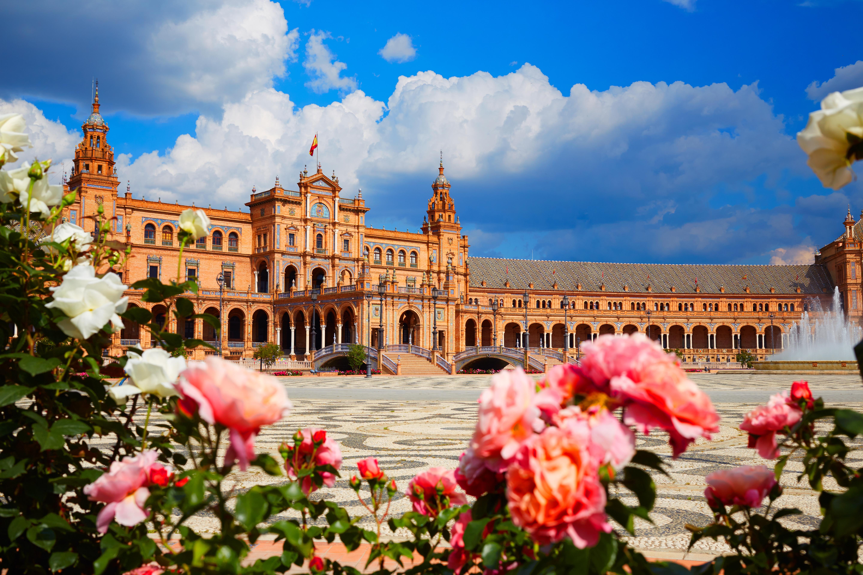 Plaza de espana en Andalousie
