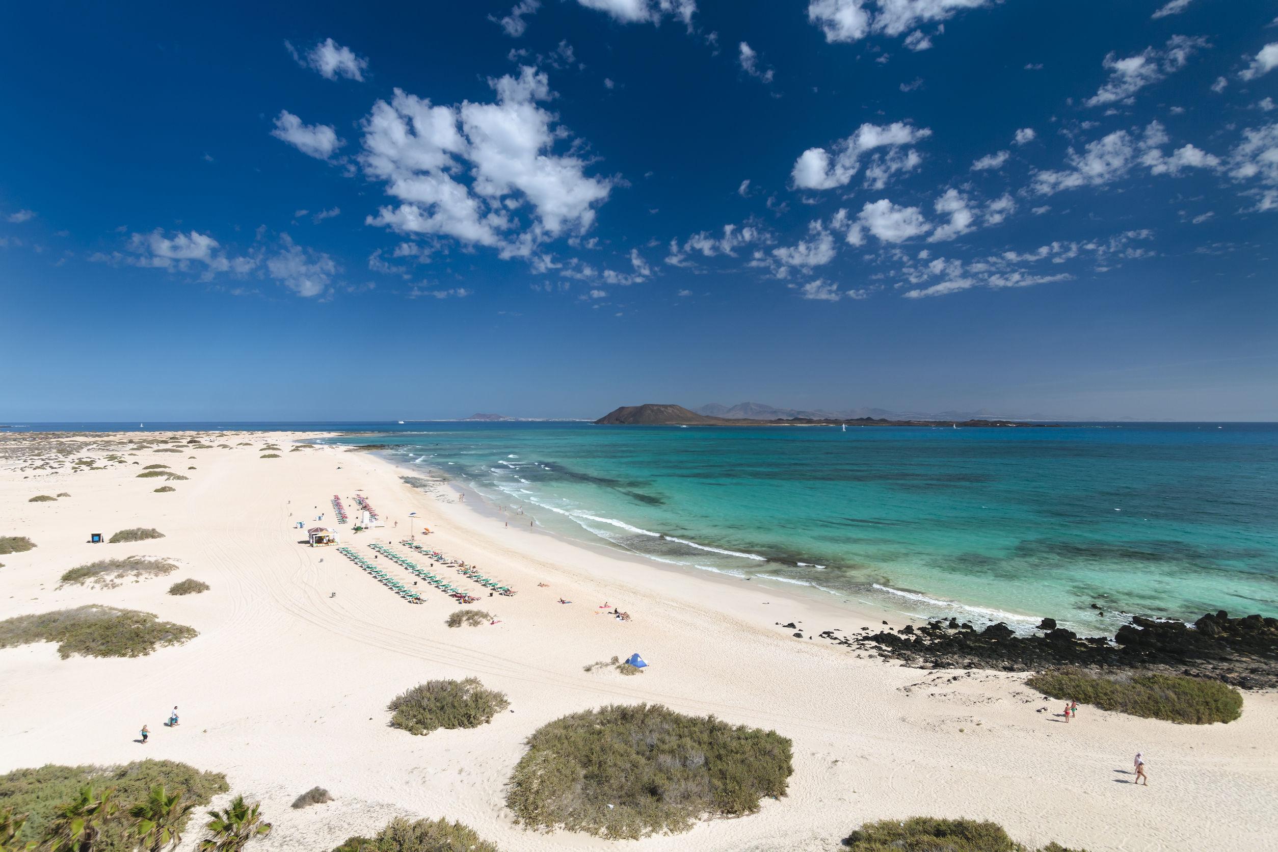 Plages de Corralejo Fuerteventura