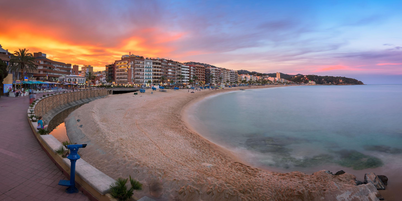 paysage lloret de mar en Espagne