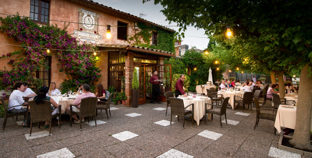 Mas Romau restaurant proposant escalivada entrée