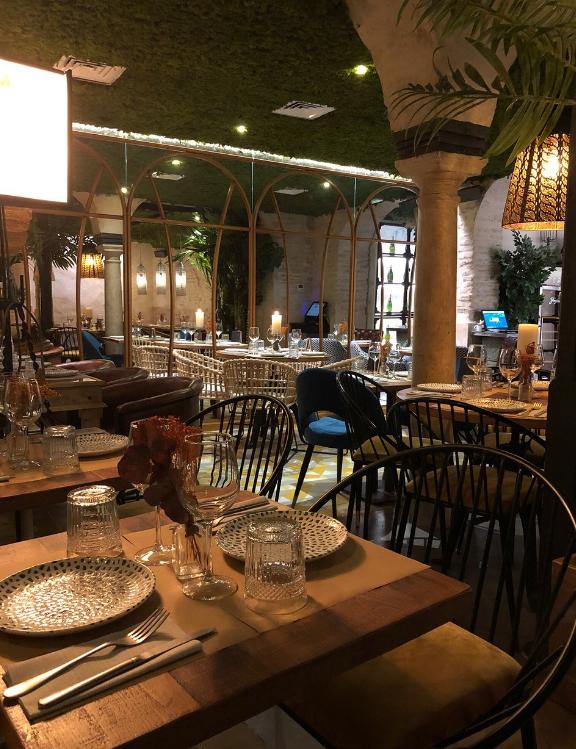 Le Cava Bar à Séville, gazpacho andaluz