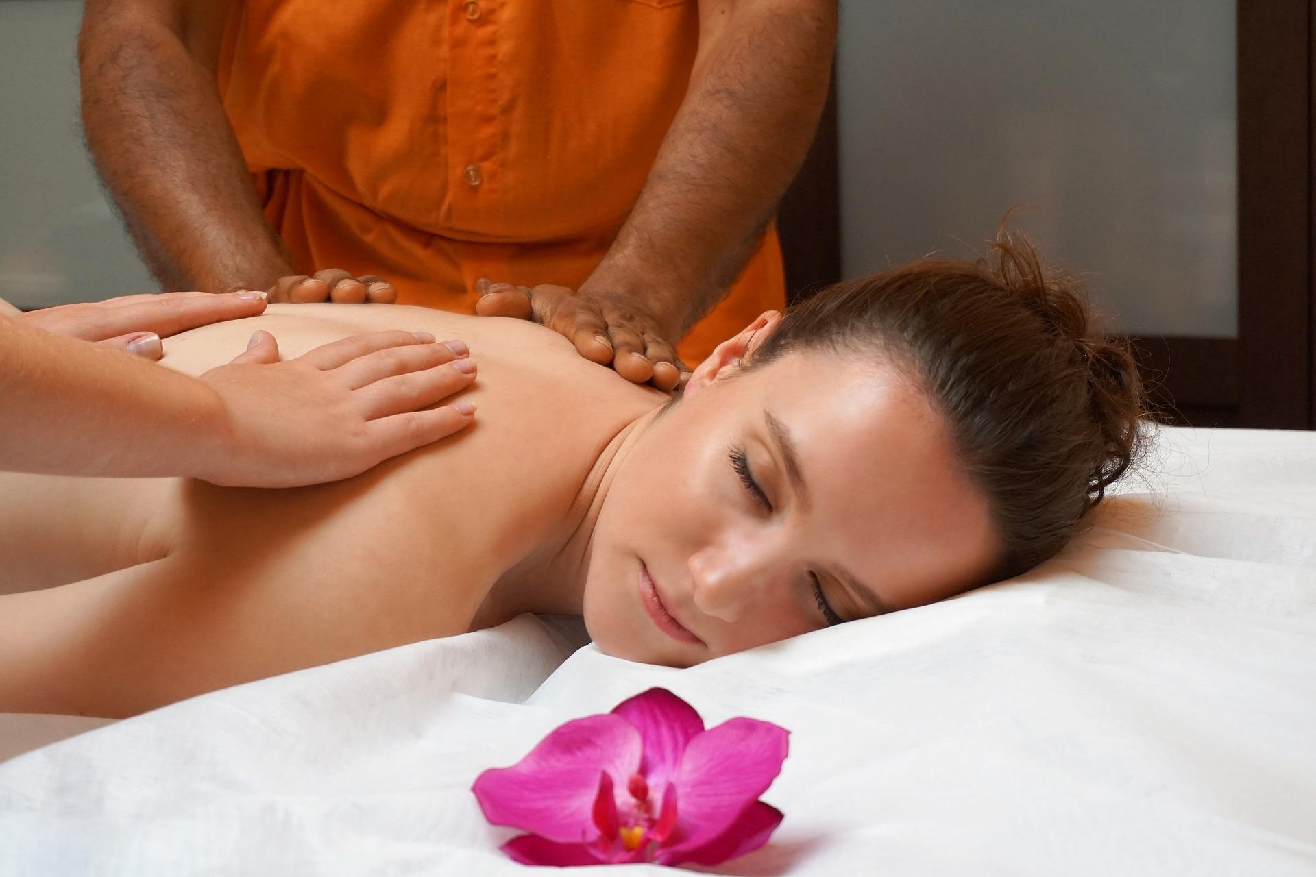 massage en Inde