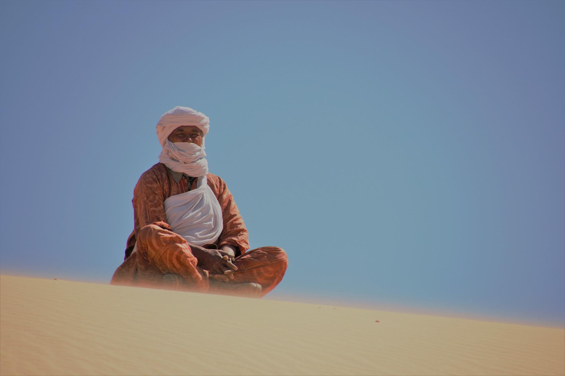 touareg desert maroc