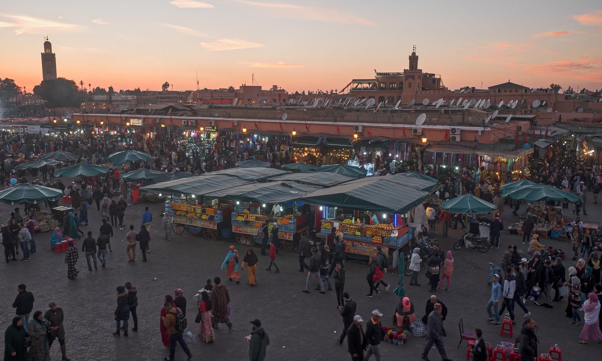 marrakech place jama el-fnaa