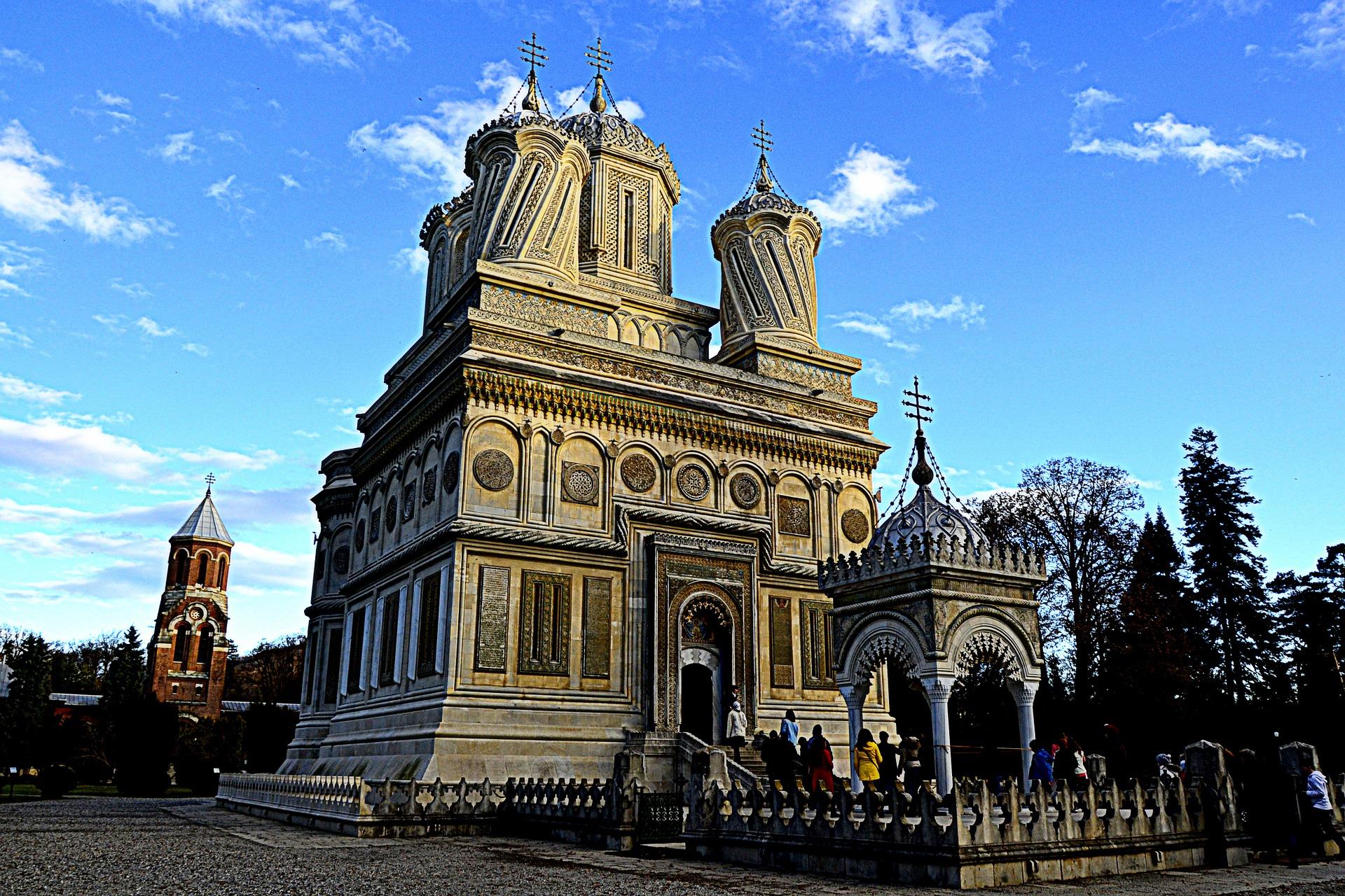 monastère roumanie