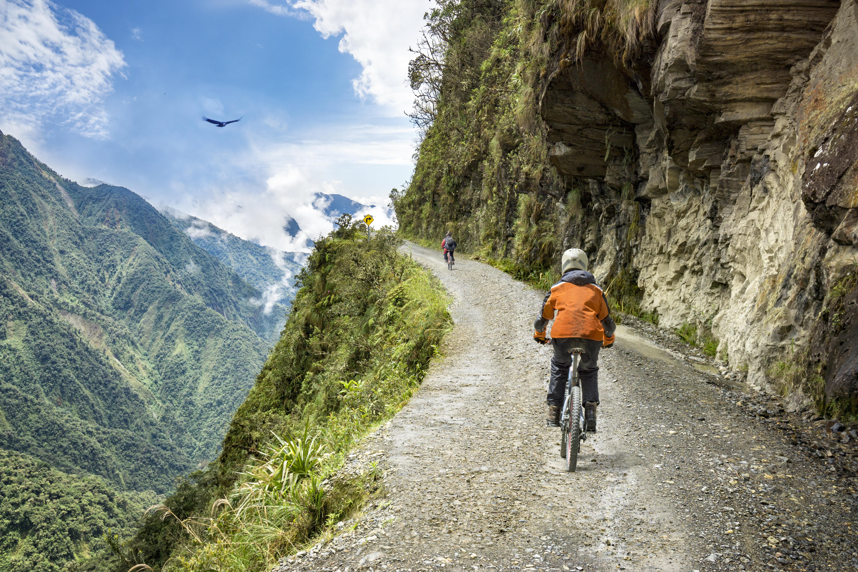 Route des Yungas La Paz