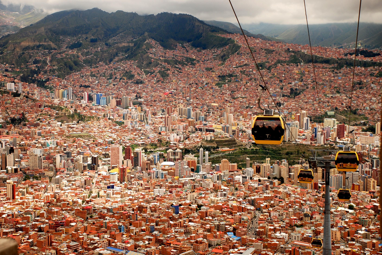 Teleferico Capitale Bolivie