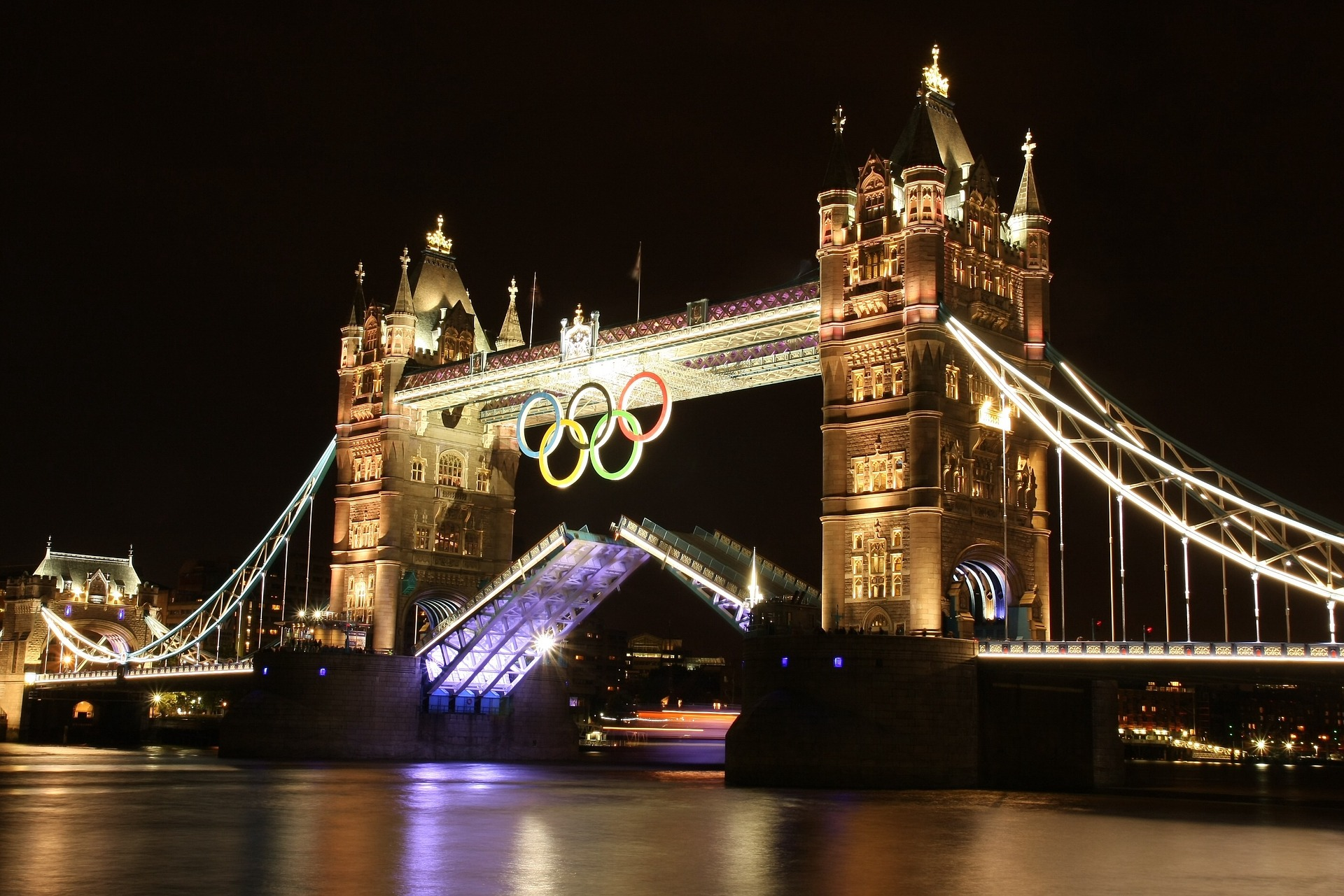 tower bridge jeux olympiques