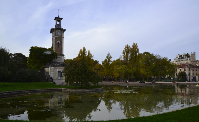 parcs et jardins paris, parc Georges Brassens